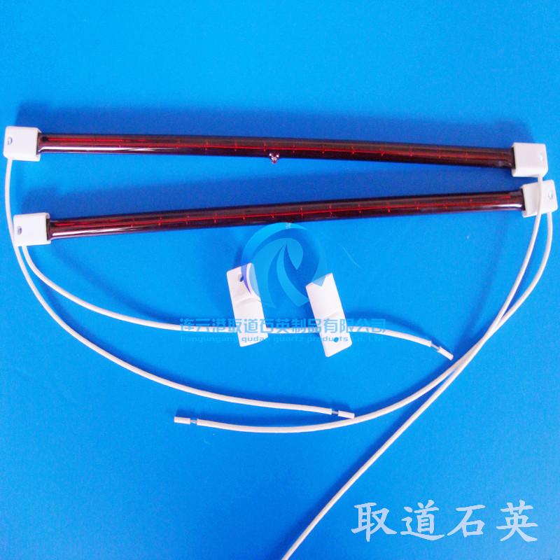 产品名称:石英碳纤维加热管